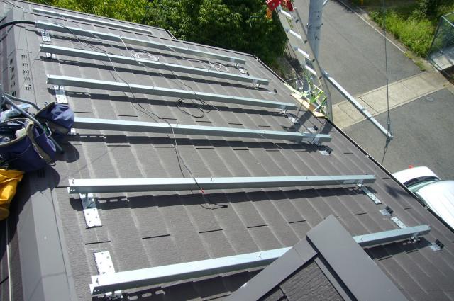 パナソニック 太陽光パネル設置前