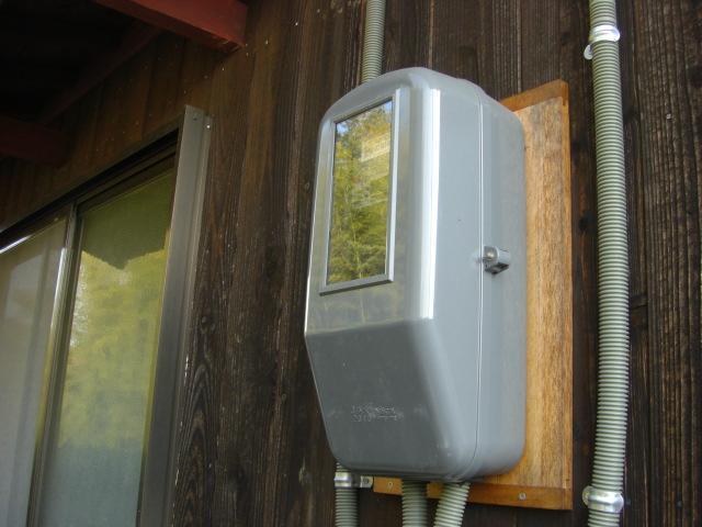 電力メーターボックス