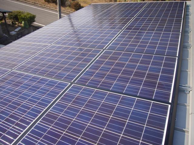 太陽光発電パネル シャープ多結晶