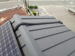 太陽光 屋根 配線