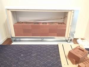 蓄熱暖房機ユニデール施工事例
