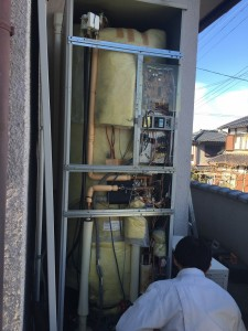 電気温水器 取替え工事
