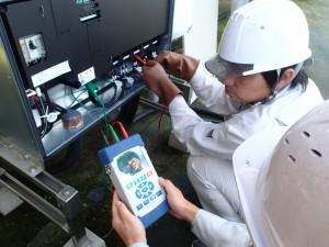 太陽光発電メンテナンス ストリング検査