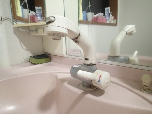洗面所 水栓
