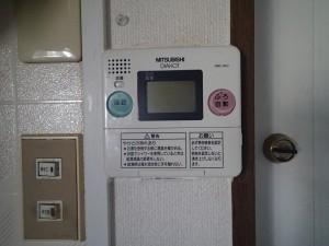 電気温水器 台所リモコン