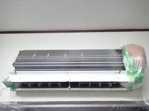 エアコンクリーニング CS-X252C-W 分解後 清掃前