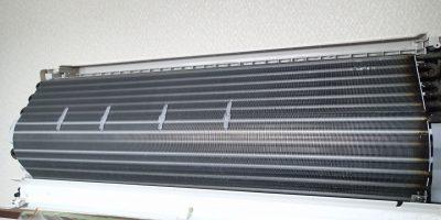 エアコンクリーニング CS-X252C-W 清掃後