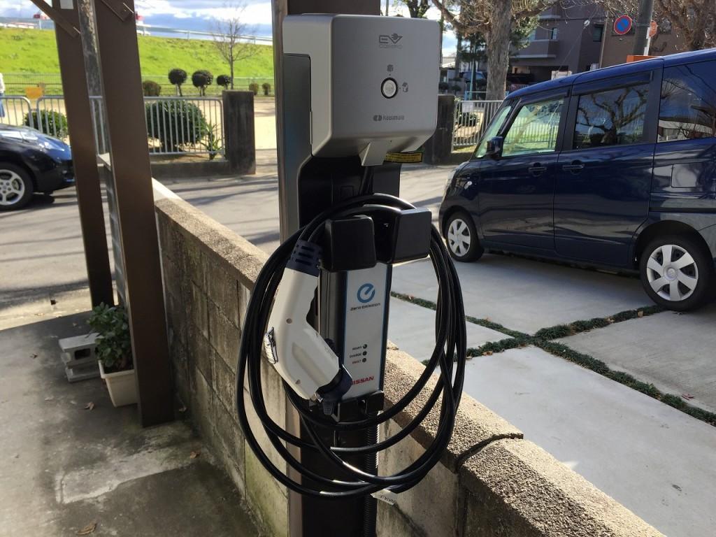 電気自動車用コンセント カワムラECLG