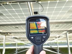 太陽光発電 IRカメラ