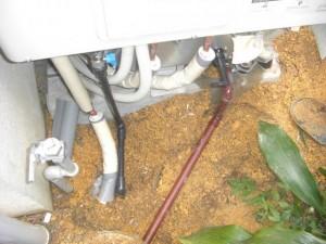 エコキュート 配管の接続
