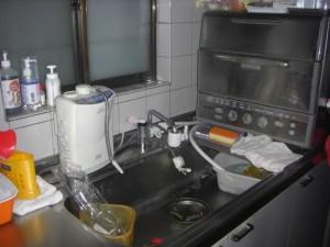 シングルレバー水栓交換
