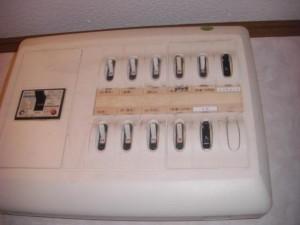 オール電化 電気工事 ブレーカ