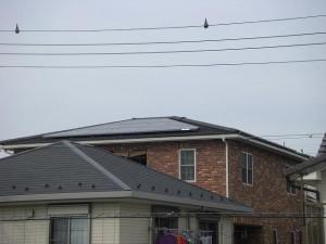 シャープ太陽光発電瓦屋根
