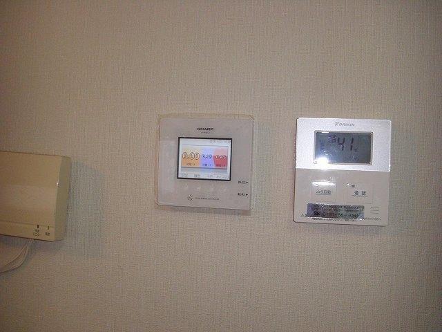太陽光発電の電力モニター
