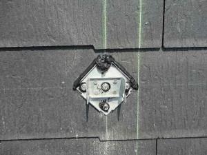 パナソニック太陽光発電 スレート金具防水