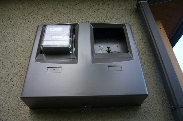 2連のメーターボックス