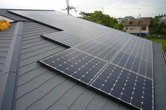 カラーベストに太陽光発電