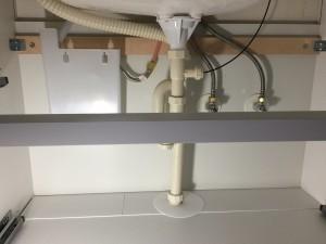洗面台の取替え工事