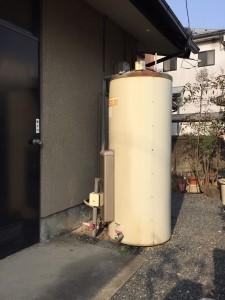 電気温水器 丸缶