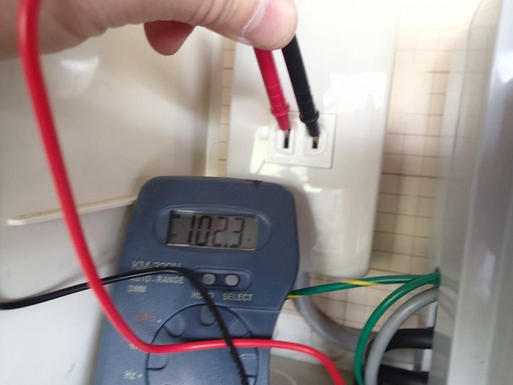 マイクロバブル据置タイプ 電源部
