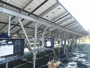 産業用太陽光発電 田淵パワーコンディショナー