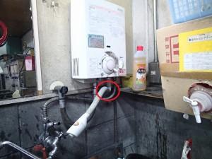 瞬間湯沸かし器ハーマンYR546