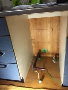 ビルトイン食洗器取替え工事