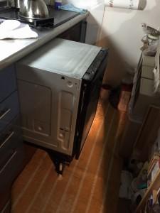ビルトイン食洗器取り外し工事