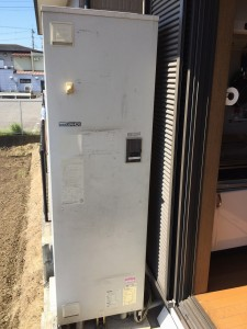 三菱 電気温水器 取替え
