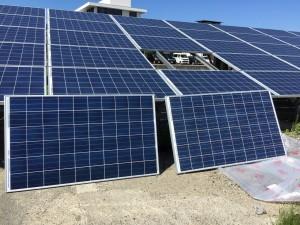 太陽光パネル 交換