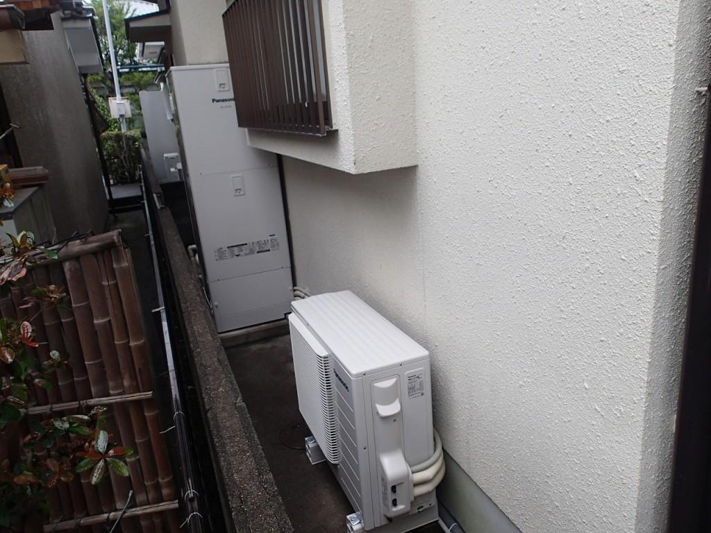 パナソニック エコキュートHE-J37HQS  据付工事