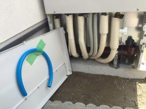エコキュート非常用取水栓ホース