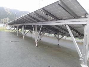 太陽光発電の雑草対策防草マット