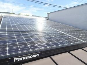太陽光発電の点検パナソニック
