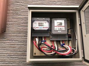 電気温水器のブレーカ電気工事