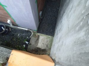 電気温水器の撤去京田辺市