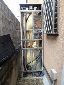 木津川市 電気温水器工事 撤去工事