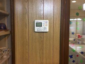 電気温水器台所リモコン