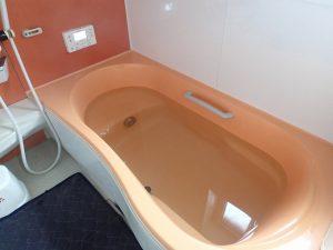 エコキュートの風呂試運転