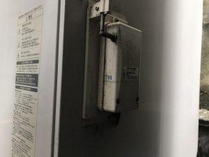 電気温水器の無線リモコンの送信機