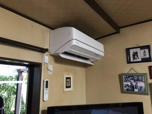 エアコン取替え