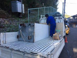 電気温水器の運搬・撤去