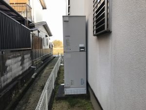 三菱電気温水器 SRT-4668WFU-BLの故障