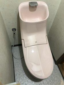 トイレ取替え工事