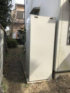 パナソニック床暖房エコキュート