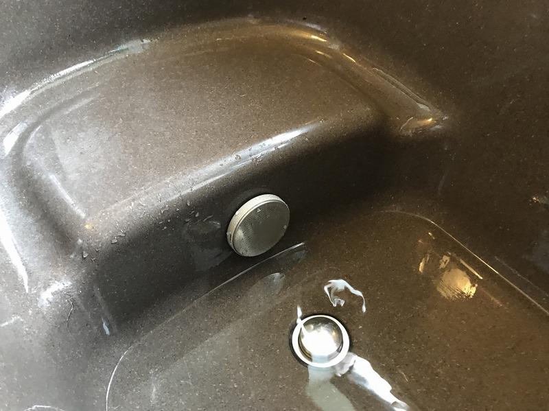 追い炊き金具を新規取付け