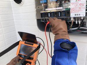 太陽光発電のIVカーブ測定