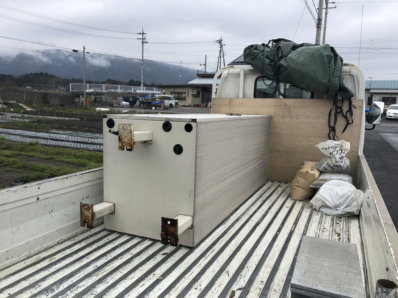 電気温水器を撤去