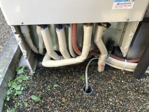 配管繋ぎ替え