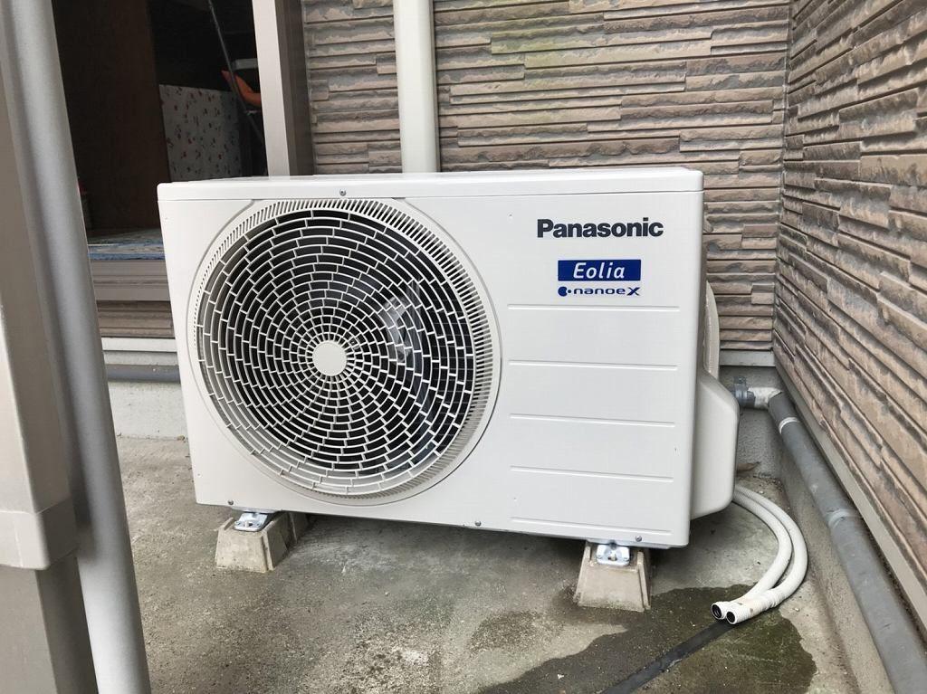 7 エアコンの室外機を取替えます